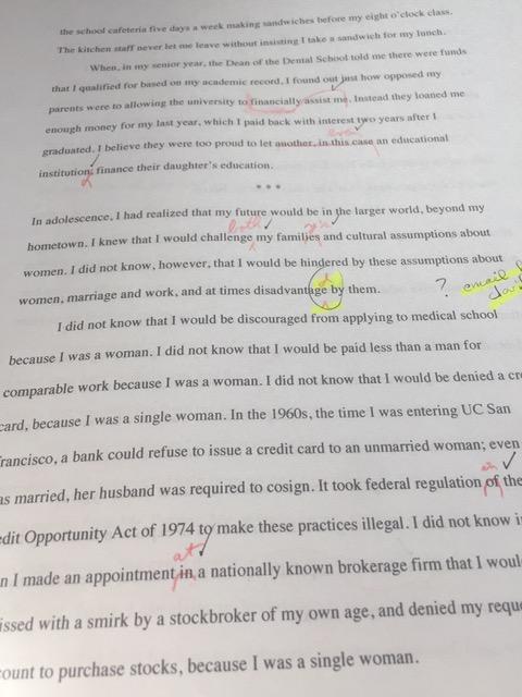 copyedited essay