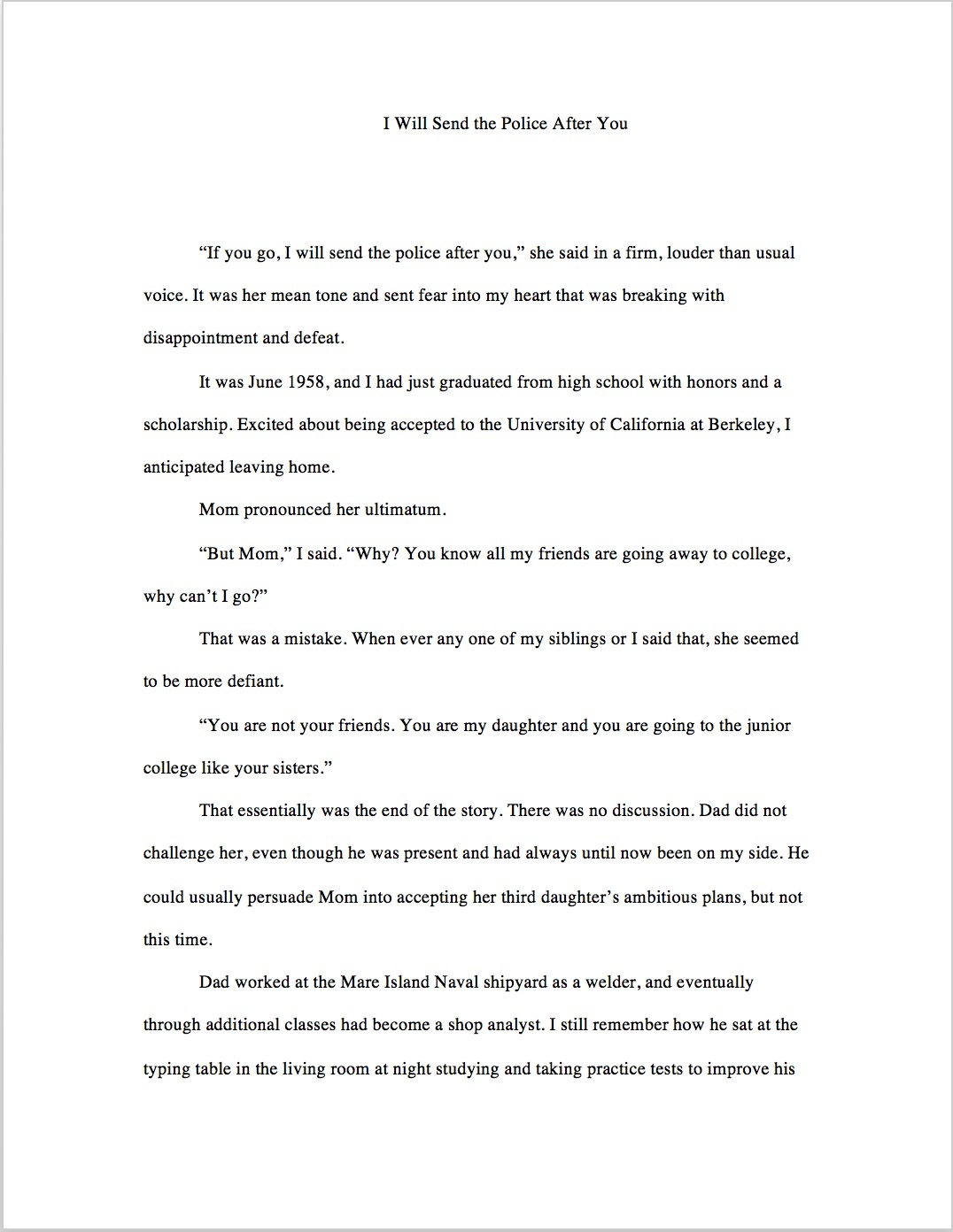 Book Chapter 1 Page 1
