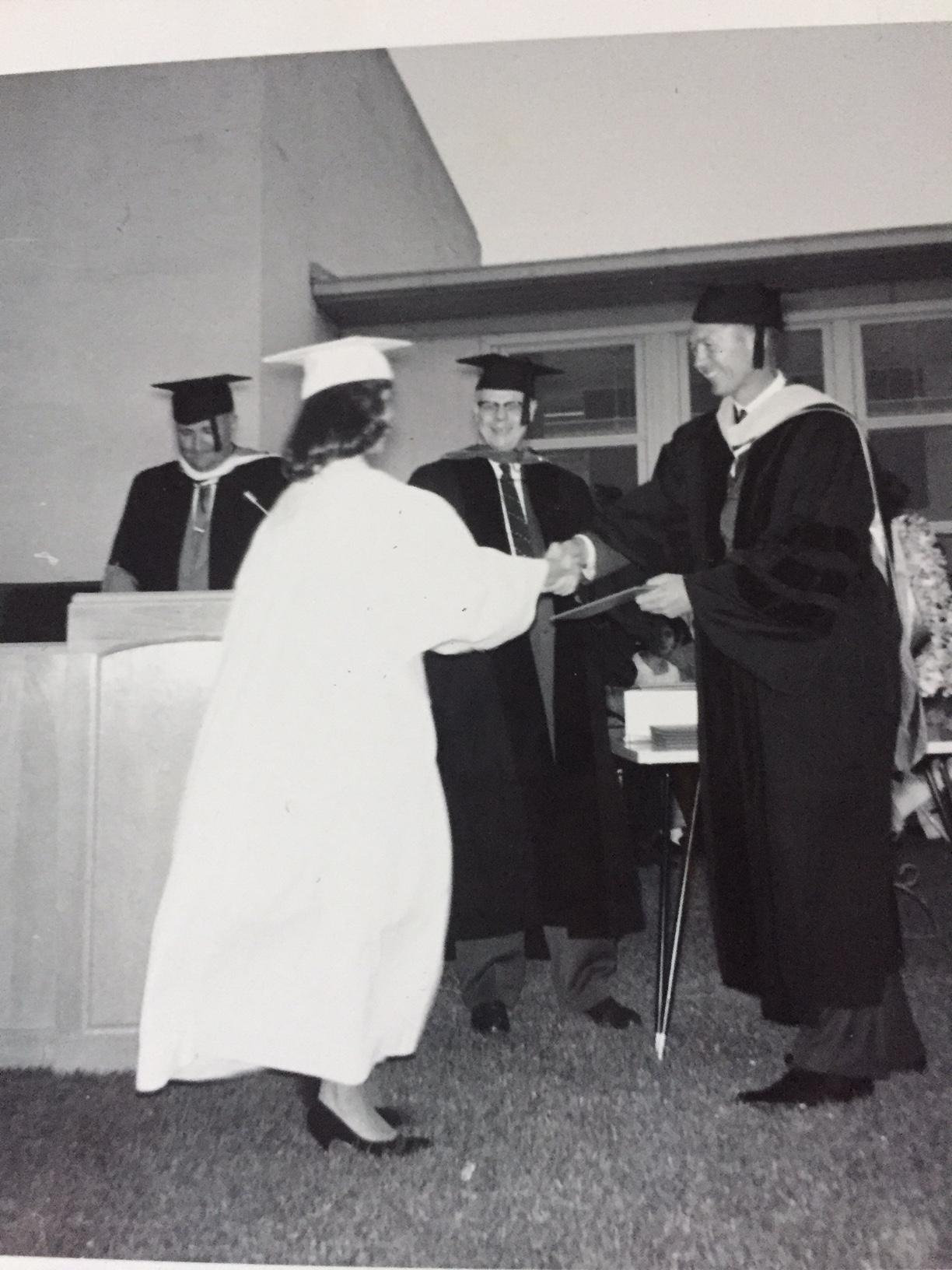 Junior College AA degree 1960