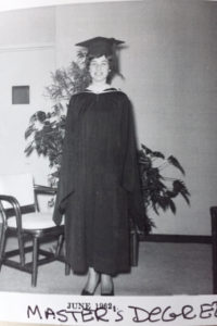 University BS DEGREE 1962 (not a MA)
